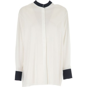 Max Mara Women Shirts White•Other colors: Midnight Blue night out SOXU694