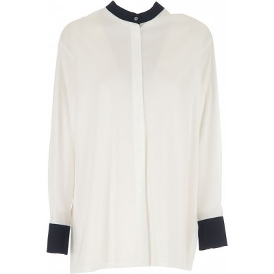 Max Mara Women Shirts White•Other colors:Midnight Blue night out SOXU694