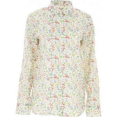 Paul Smith Women Shirts White•Other colors:Multicolor Bridesmaid FHWB382