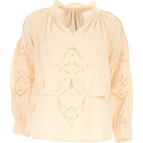 See By Chloe Women Shirts Butter Homecoming IOBS147