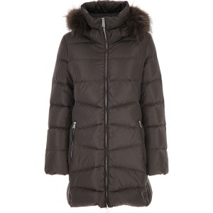 ADD Women Down Jackets Grey Metal Party The Most Popular PCJQ253