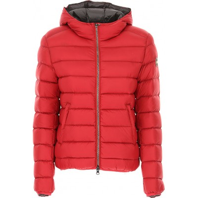Colmar Women Down Jackets Cherry Red going out spring 2021 VLKW972