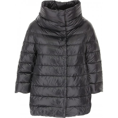 Herno Women Down Jackets Black Party Number 1 Selling WJNN179