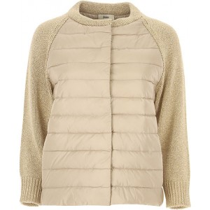 Herno Women Down Jackets Gold Beige Size XL outfits NAEG723