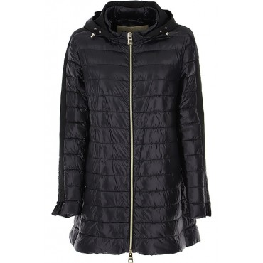 Herno Women Down Jackets Navy Blue evening QPPY463