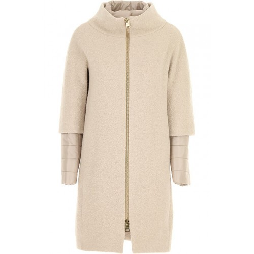 Herno Women Down Jackets Taupe shop online MBPD313