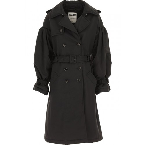 Moschino Women Down Jackets Black Going Out in style WDTH425