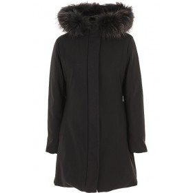 People of Shibuya Women Down Jackets Black Going Out Hot Sale YKEX770