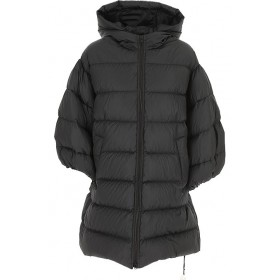 RED Valentino Women Down Jackets Black Casual BBFF138