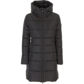Save the Duck Women Down Jackets Black Casual BCKC422