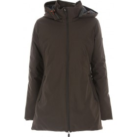 Save the Duck Women Down Jackets Brown Casual Express NBZT752