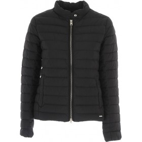 Woolrich Women Down Jackets Black Homecoming Trends XCIY704