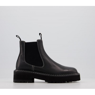 Alias Mae Rome Chelsea Boots Black Burnished - Ankle Boots for Women JCT3D6184