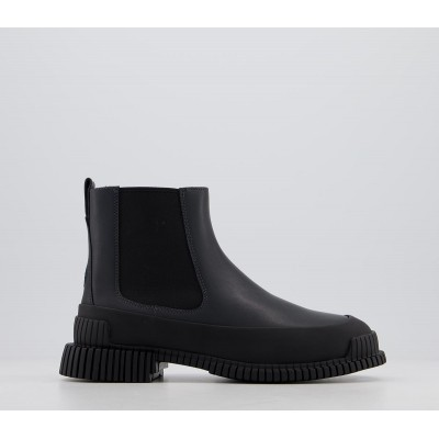 Camper Mugello Chelsea Boots Black - Ankle Boots for Women 83PZW872