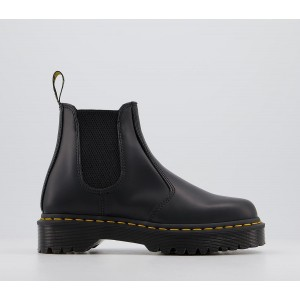 Dr. Martens 2976 Bex Chelsea Boots Black Smooth - Ankle Boots for Women New Look AJ028810