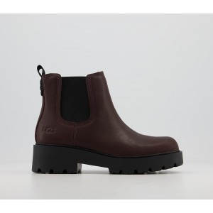 UGG Markstrum Boots Burgandy - Ankle Boots for Women ASG7J753