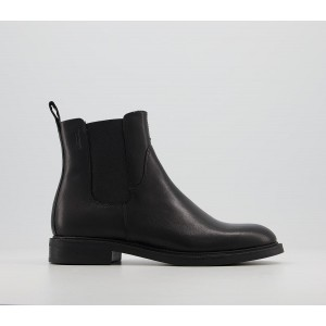 Vagabond Shoemakers Amina Chelsea Boots Black - Ankle Boots for Women In Store WKKM26897
