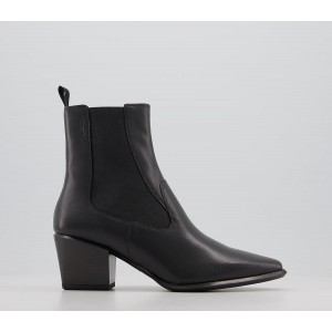 Vagabond Shoemakers Betsy Heel Chelsea Boots Black - Ankle Boots for Women The Best Brand 177QX1883