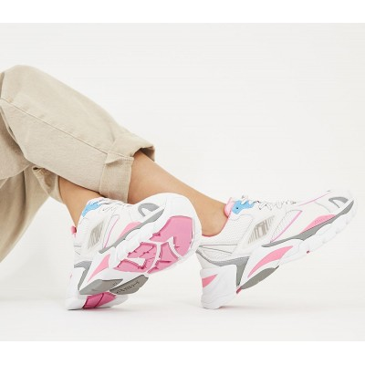 Ash Flex Sneakers White Pink - Flat Shoes for Women for Women NOOHG558