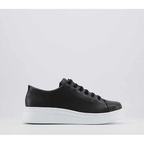 Camper Runner Up Trainers Black White - Flat Shoes for Women for Women Latest Fashion YIS3W7424