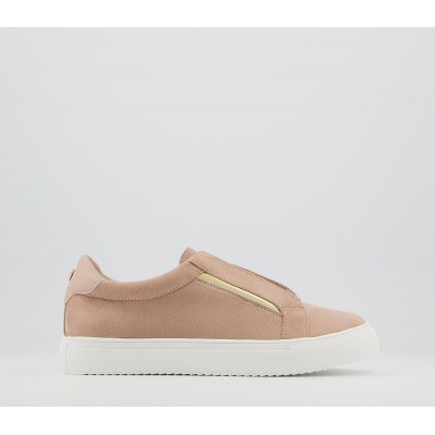 Office Fizzing Slip On Trainers Nude - Flat Shoes for Women for Women 2021 New 0BB8U9128