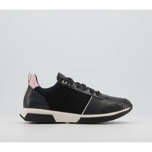 Ted Baker Ceyaa Trainers Black - Flat Shoes for Women for Women Lowest Price UJ65G9389