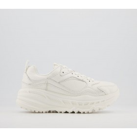 UGG CA805 Trainers White Leather - Fashion Trainers for Women Deals 7YWAL216