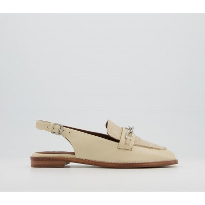Office Fairen Sling Back With Hardware Loafers Bone Leather Croc Mix - Step Out In Style for Women stores 1IHR13838