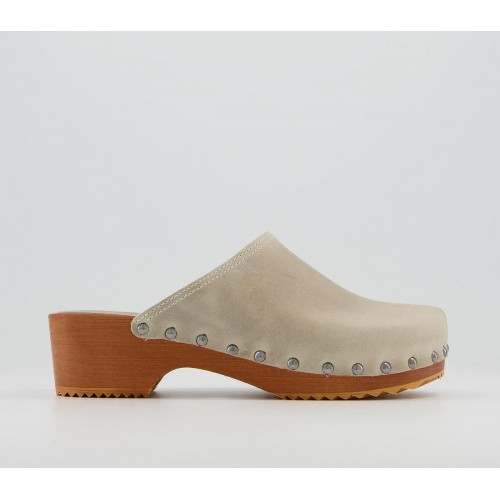 Office Fall Out Closed Toe Clogs Camel Leather - Non Promo Products for Women quality PN3EI2984