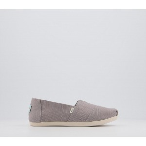 TOMS Alpargata 3.0 Espadrilles Morning Dove Grey Heritage - Flat Shoes for Women for Women 2021 ZN2IU9704
