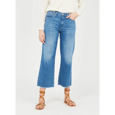 7 FOR ALL MANKIND Women's CROPPED ALEXA - Jean stone High-rise cropped wide-leg jeans Discount TAAC299