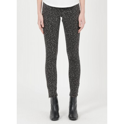 IKKS Women's Black Printed slim-fit jeans Collection WCFA882
