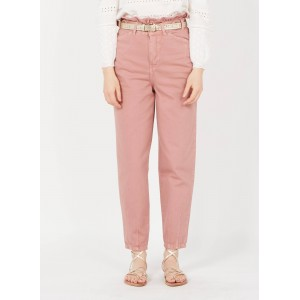 SINEQUANONE Women Pink High-waisted carrot pants Selling Well PRKZ168